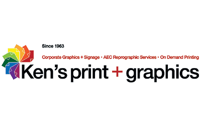 Logo for Ken's Print + Graphics